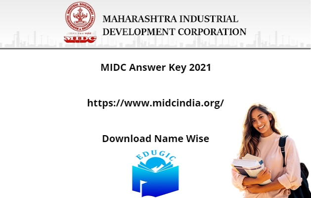 MIDC Answer Key 2021