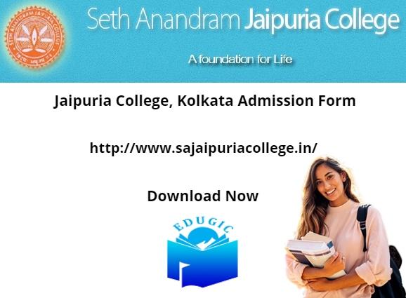 Jaipuria College, Kolkata Admission Form 2021