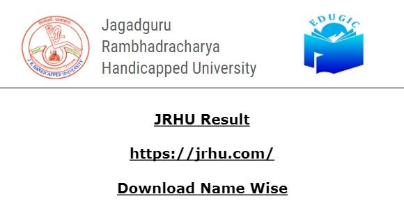 JRHU Result