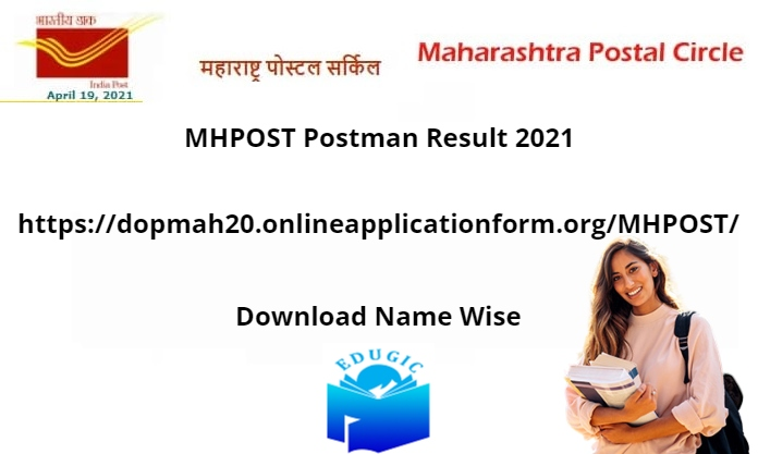 MHPOST Postman Result 2021