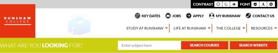 Runshaw Student Portal Login