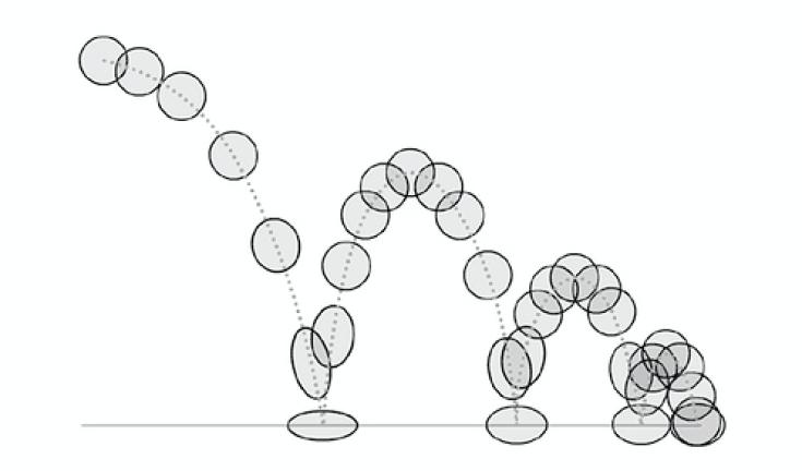 bouncing-ball animation