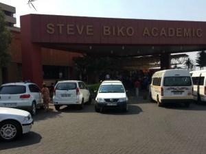 Steve Biko Entrance
