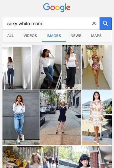 google sexy white mom