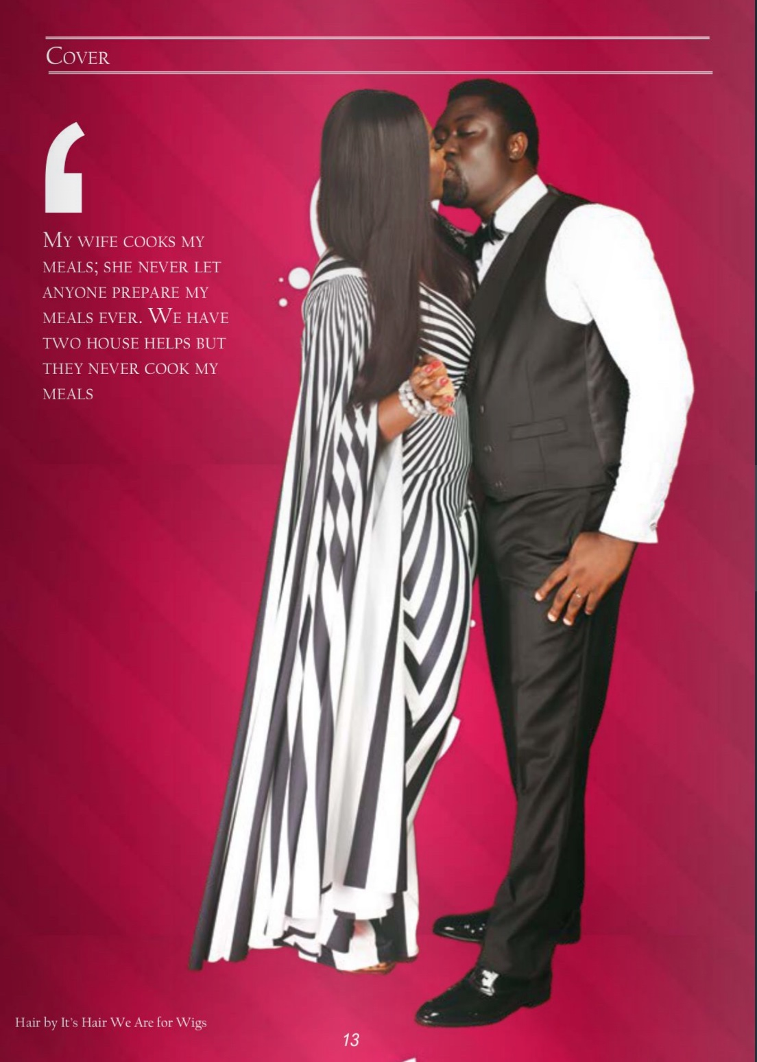 Mercy Johnson And Hubby Covers Media Room Hub Magazine