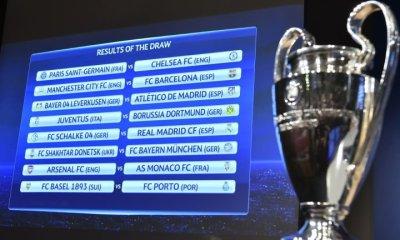 UEFA champions league draws