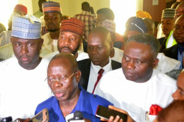 Image result for ADAMS Oshiomhole goes tough on R-APC