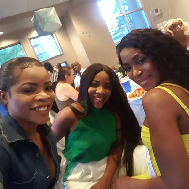 Psquare And Other Celebrities Attend Linda Ikejis Baby Shower In