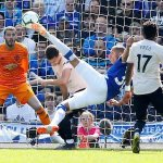Everton run riot to rout miserable Man Utd