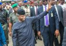 How VP Osinbajo's Vehicle Broke Down During Visit To Maiduguri