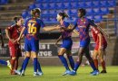 Oshoala scores again as Barcelona qualify for the final of the Catalunya Cup