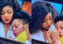#BBNaija: Khafi breaks down in tears over Gedoni's eviction (Video)