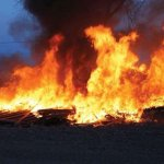 Another Fuel Tanker Falls, Explodes At Omagba Phase 2 Onitsha (Video)