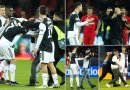 Ronaldo left angry as he confronted a pitch invader who nearly gets him hurt