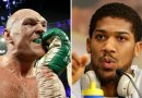 Tyson Fury Wore 'Nigeria' Gumshield In Match With Wilder. Taunts Anthony Joshua?