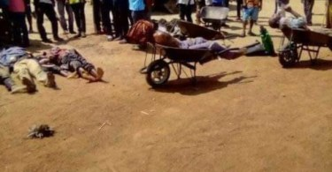 Outrage As Suspected Fulani Herdsmen Massacre 36 Benue Residents, College Students
