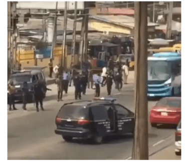 HAPPENING NOW! Heavy Tension In Lagos After Three Okada Men Were Shot Dead During Clash With Police (Details below)