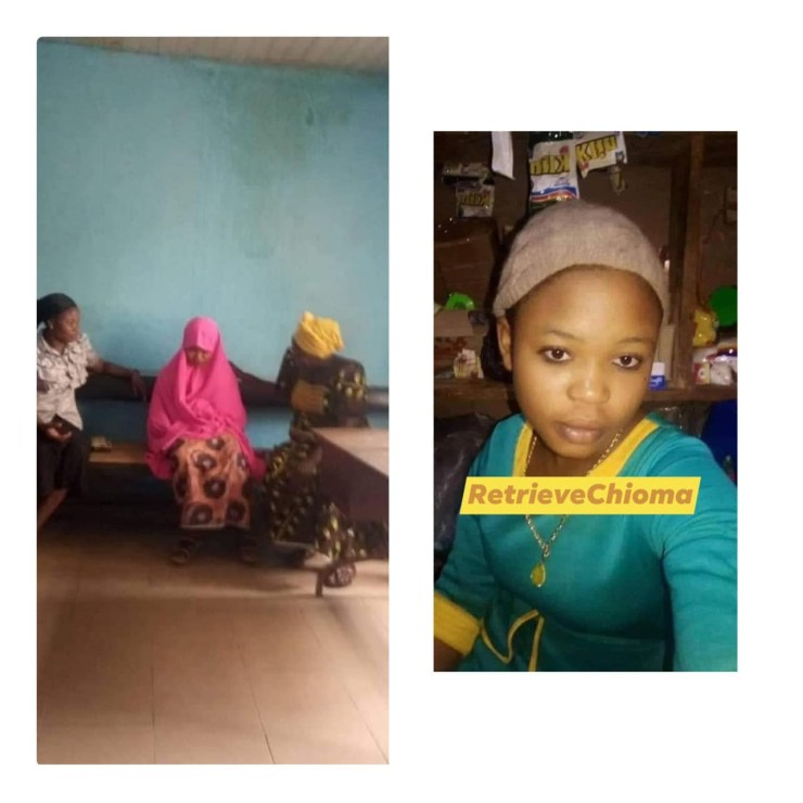 15-Year-Old Igbo Girl Kidnapped In Enugu, Forcefully Converted to Islam And About to be Married Off in Kaduna (Photo)
