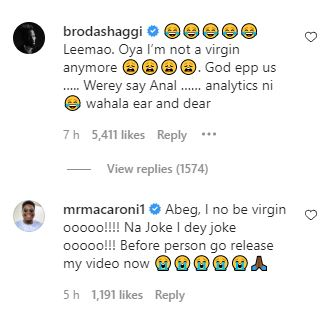 Broda Shaggi Replies Lady Who Accused Him Of Sleeping With Her After Lying
