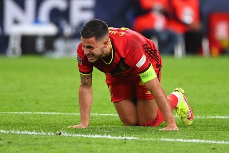 Eden Hazard has suffered a hamstring injury
