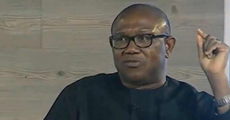 Peter Obi blames FG for security breakdown in Anambra