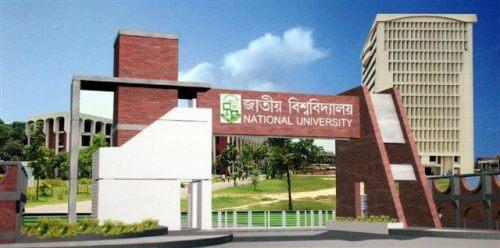 National University GPA System