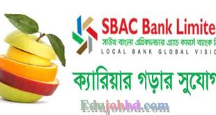 sbac bank job circular Online Apply
