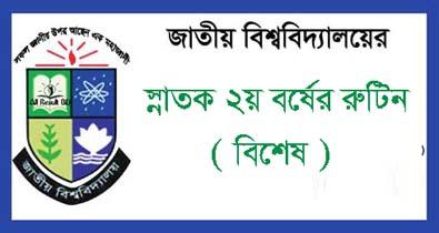 Honours 2nd year Exam Routine