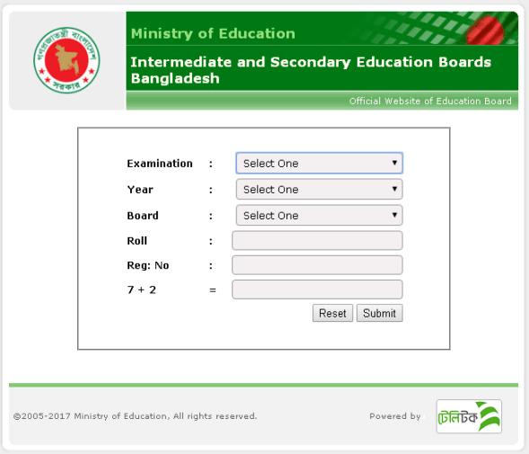 SSC Result 2019 bangladesh www.educationboardresults.gov.bd