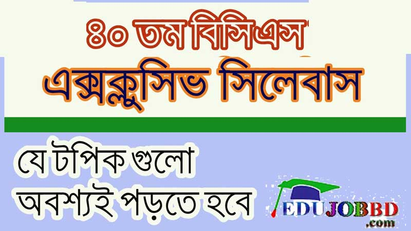 bcs syllabus 2019 bpsc.gov.bd Marks Distribution