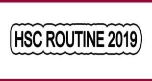 hsc exam routine