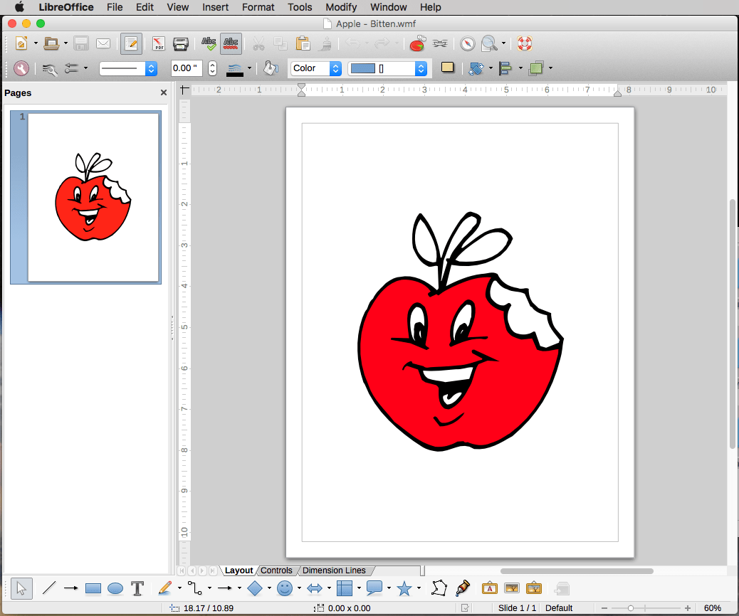 Using a Windows Clip Art disk with .wmf files under OS X ...