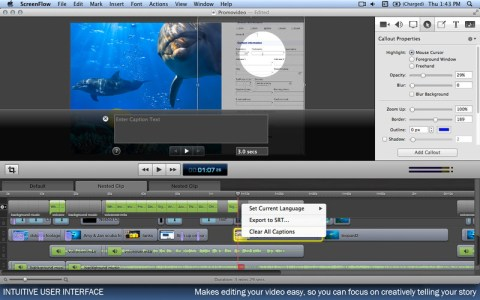 screenflow is awesome for screencasting on the Mac
