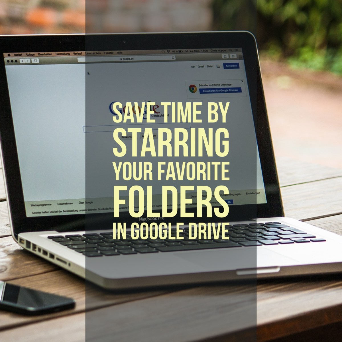 Save time by starring your favorite folders in Google Drive