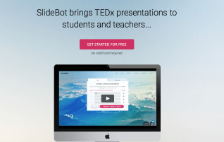 SlideBot automatically creates presentations from your text
