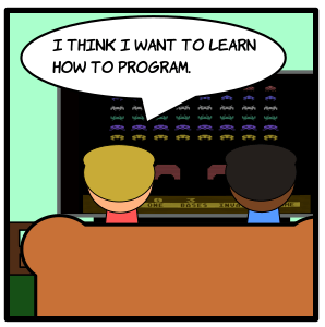 {Comic} Coding for Life