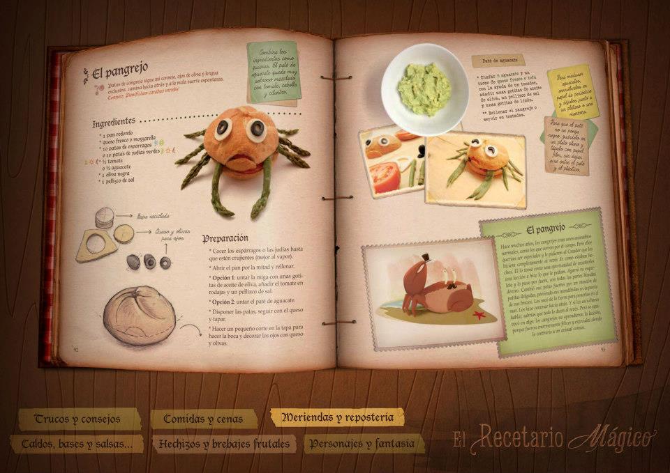 El recetario mgico recetas para una alimentacin sana