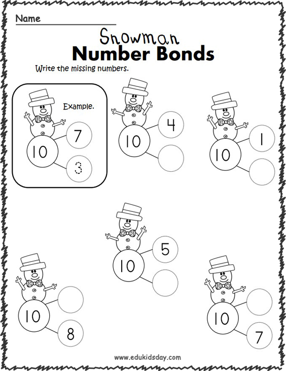 Top Free Printable Addition Number Math Worksheets for