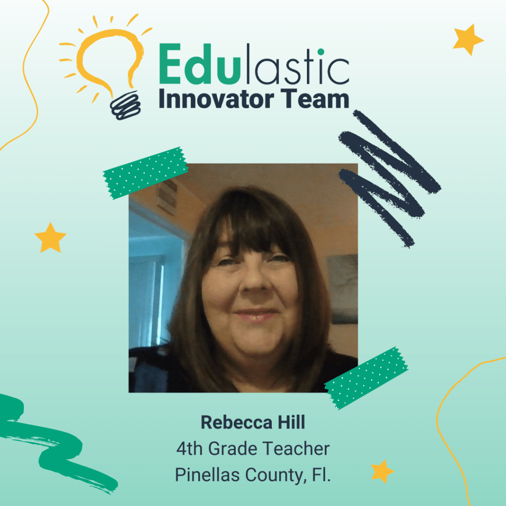 Rebecca Hill is a 4th Grade Teacher from Florida who has worked in education for 7 years.