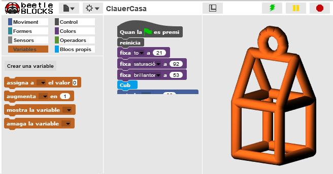 BeetleBlocks: Dissenya el teu clauer i imprimeix-lo en 3D!