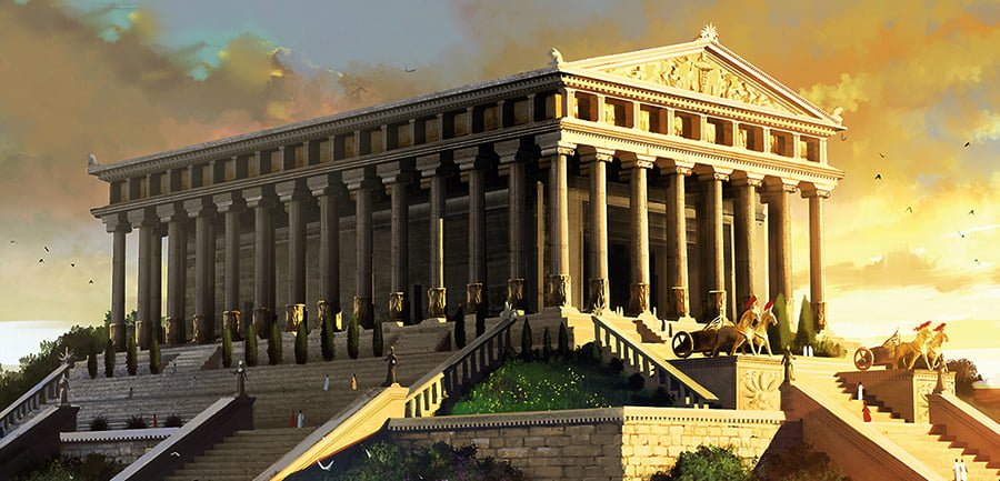 7. Temple of Artemis (550 BC - Ephesus, Turkey)