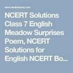 UNSEEN PASSAGES CLASS VII INDEX |