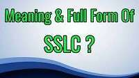 SSLC Full-Form | What is Secondary School Leaving Certificate (SSLC)