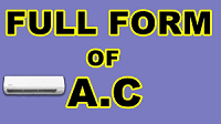 AC Full-Form   What is Alternating Current (AC)