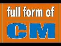 CM Full-Form | What is Chief Minister (CM)