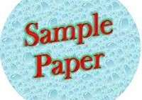 English sample / Model paper for class 10 Set 15- 2020