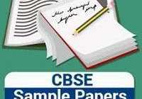 English sample / Model paper for class 10 - Set 12- 2020