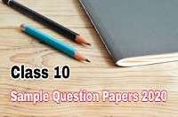 English sample / Model paper for class 10 with solution- Set 5- 2020