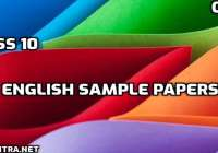 CBSE Class 10 English 2020-21 Sample Paper |Solved | PDF download