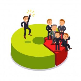 التغلب على الشركات الكبيرة في المنافسة